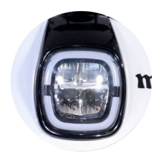 Headlight With LED Console Panels